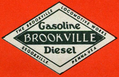 Brookville Locomotive, Leather Motors Locomotive, Brookville Truck and Tractor Locomotive, Fordson Locomotive