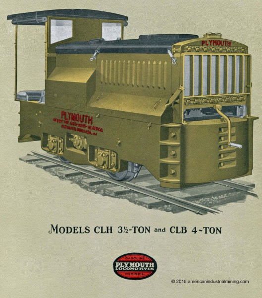 Plymouth-Locomotive Model CL