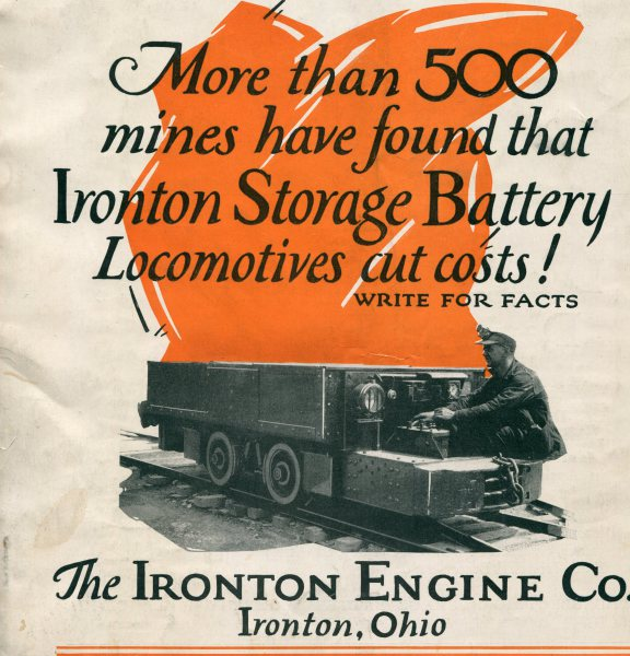 Ironton Engine Company, American industrial Mining Company